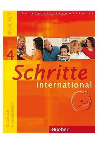 Schritte International Neu 4 (A2.2) Kurs- und Arbeitsbuch
