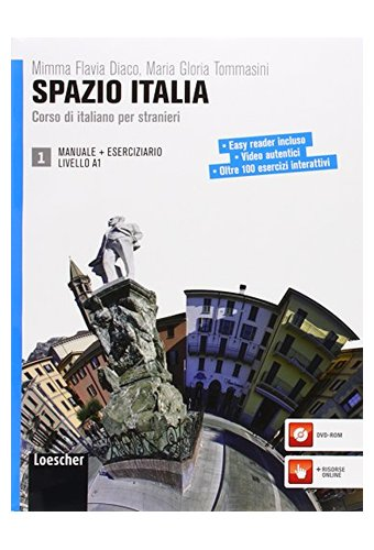 Spazio Italia: Manuale 1 + Eserciziario Con CD-Rom (A1)