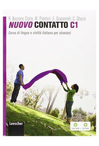 Nuovo Contatto: Volume C1 (Manuale + Eserciziario) + DVD-ROM + CD-ROM