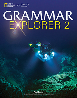 Grammar Explorer 2 - Student Text + Audio CD package