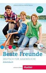 Beste Freunde: Arbeitsbuch A1/2 mit CD-Rom