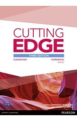 Cutting Edge: 3rd Edition Elementary Workbook with Key